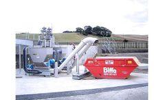 HUBER - Model WAP SL - Wash Press Screenings Treatment Systems