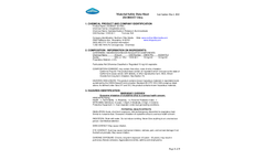 Zeobest Ultra - Zeolite Filter Media Brochure