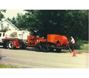 Combination water jet cleaning / sewer cleaning - Water and Wastewater - Sludge Management
