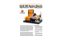 350 Series Electric High Pressure Water Jetting Unit