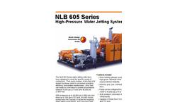 NLB 605 Series High-Pressure Water Jetting Unit