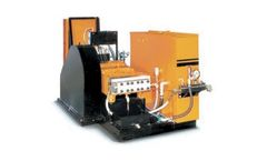 NLB - Model 125 Series - Electric High Pressure Water Jetting Systems