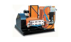 NLB - Model 350 Series - Electric High Pressure Water Jetting Systems