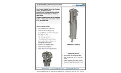 PRM - Model PRM 2 - Stainless Steel Bag Filter Housing Brochure