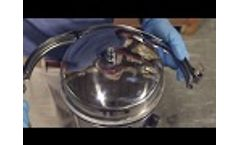 How to Change the Bag in a Bag Filter Housing (Stainless Steel - Banded Clamp Lid - #2 Size) - Video