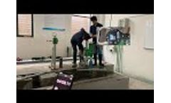 Concrete Core Drilling Test TWO with BYCON Drill Motor Model: DMP-352 (Φ 32mm rebar) Video