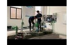 Concrete Core Drilling Test ONE with BYCON Drill Motor Model: DMP-352 (Φ 25mm rebar) Video