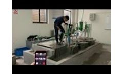 Concrete Core Drilling Test with BYCON Drill Motor Model: DMP-162D Video