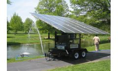 Mobile MaxPure - Model MMP - Solar Powered Water Purification Systems