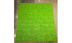 3D Brick PE Foam Stone Wallpaper