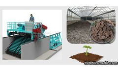 Manufacture of cow dung organic fertilizer and compost turning machine process