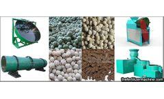 Wet and dry granulation of fertilizer equipment