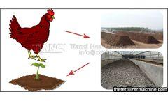 Chicken manure organic fertilizer equipment solves the rational utilization of resources