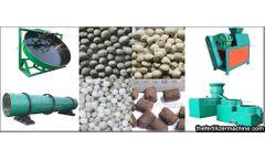 NPK fertilizer granulation machine adapts to various formulas to save energy
