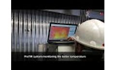 ProTIR system - Temperature monitoring inside boilers Video