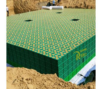 Rainwater Harvesting System Stormwater Drainage Attenuation Infiltration Detention System-1
