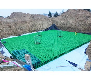 Rainwater Harvesting System Stormwater Drainage Attenuation Infiltration Detention System-2