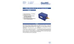 GeoSIG - Model VE-1x - Velocity Sensor - Brochure