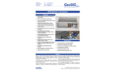 Model STS - State-of-the-art Seismic Switch - Brochure