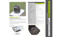 Sensebox-Broad - Model P Series - Portable Seismic Sensor - Datasheet