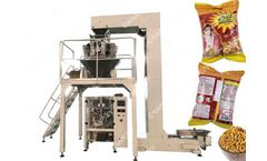 Cankey - Model CK-A14-1.6 & CK-LK520 - Automatic Namkeen Mixture Packing Machine