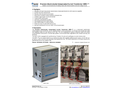 Applied Precision - Model CMR-I - Precision Electronically Compensated Current Transformer Brochure