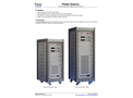 Applied Precision - Precision High Power Voltage and Current Source Unit Brochure