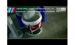 Sorting PET PVC bottle flakes Video