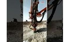 DTH drilling rig Video