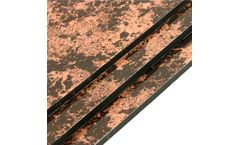 Model 9054 - Red Marble Aluminum Composite Panel