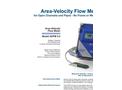 Greyline - Model AVFM 5.0 - Area-Velocity Flow Monitor - Brochure