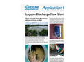Lagoon Discharge Flow Monitoring - Application Note