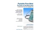 Greyline - Model PDFM 5.1 - Portable Doppler Flow Meter - Brochure