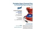 MantaRay - Portable Area-Velocity Flow Meter - Brochure