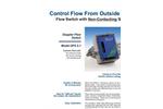 Greyline - Model DFS 5.1 - Doppler Flow Switch - Brochure