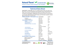 Natural Therm - Model 2.0 HFO - Closed Cell Insulation Foam Brochure