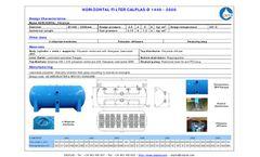 Calplas - Horizontal Filters Brochure