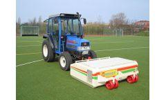 Hörger - Model SKU 1200/1500/2100 - Professionell Artificial Turf Cleaner