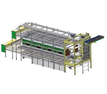 FIT - Model 2 - Nature Layer Aviary System