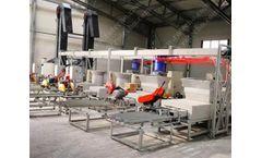 Sawdust Wood Pallet Block Press Machine