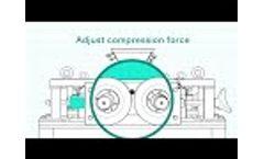 Double-roller Crusher DRC 200х125 - video