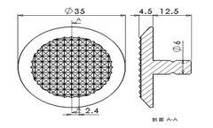 Waring Stainless Steel Tactile Indicator (XC-MDD1305B)