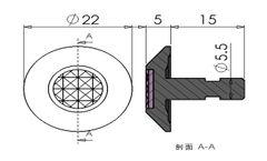 Waring Stainless Steel Tactile Indicator (XC-MDD1464)