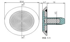 Waring Stainless Steel Tactile Indicator (XC-MDD1600)