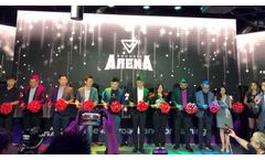 AOTO M4C LED Display Unveiled Bountie E-sports Arena Opening Ceremony