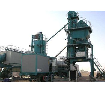 Construction and management of mobile asphalt mixing plant
