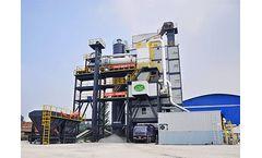 Liaoyuan - Model RLB60 - RLB160 - Asphalt Recycling Plant