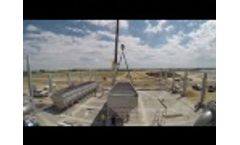 Trident DAF placement during nutrient recovery installation at dairy farm Video