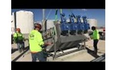 Sludge Dewatering with Trident MD Press Video
