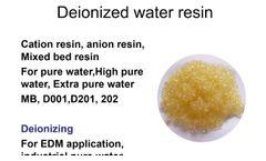 Ion exchange resin, iex resin-QingYun - Video